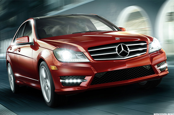 Top 10 most stolen luxury cars thestreet for What are the different classes of mercedes benz cars