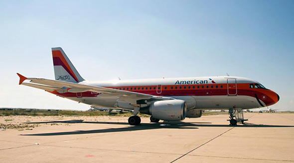American airlines honors psa the model for southwest airlines painting of the a319 with tail number n742ps which is part of the us airways fleet was completed wednesday on friday the aircraft is flying mexico sciox Gallery